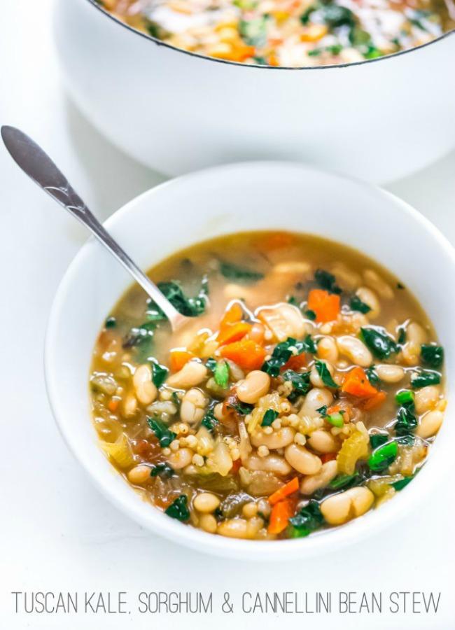 Sorghum-Cannellini-Bean-Stew