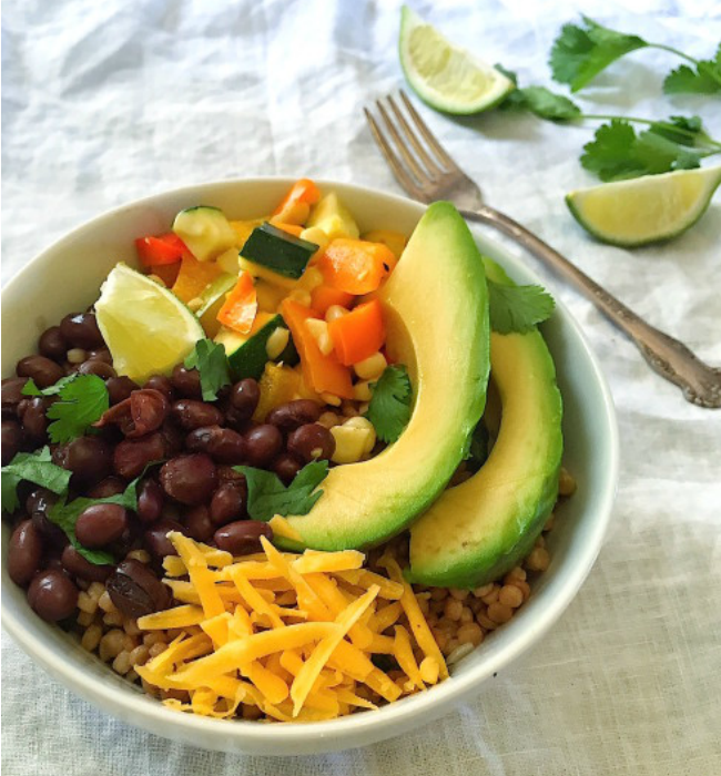 Whole-Grain-Burrito-Bowls