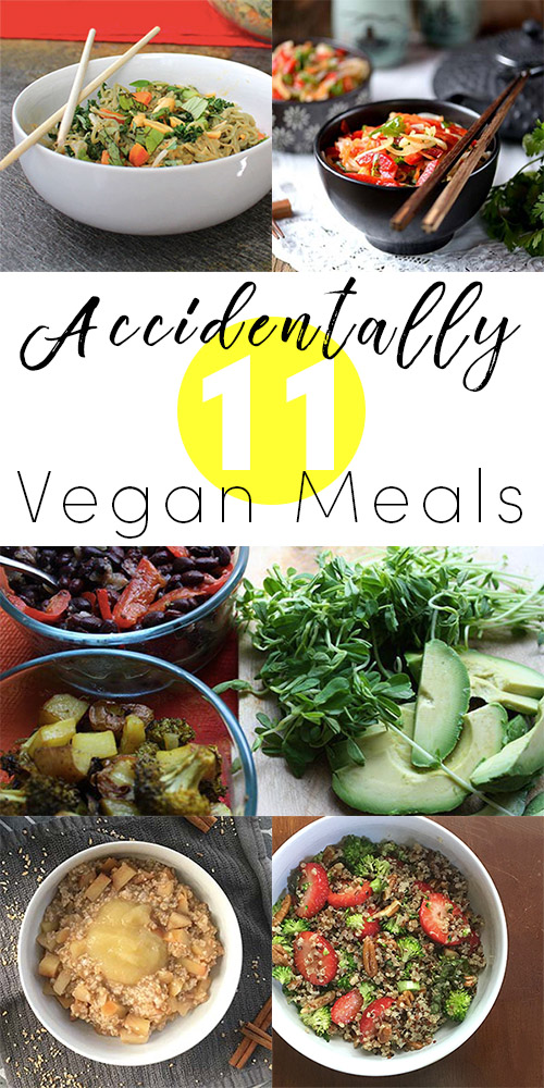 Going vegan can seem hard, but chances are, you already have some accidentally vegan meals in your recipe arsenal.