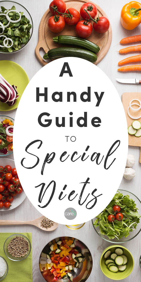 It seems like everyone you meet is eating a special diet right now, and it's easy to mix them up. Here are some of the most common special diets and what they're about.