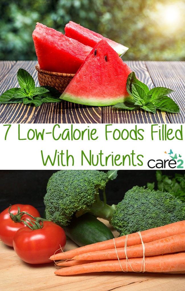 Low Calorie Foods Filled With Nutrients
