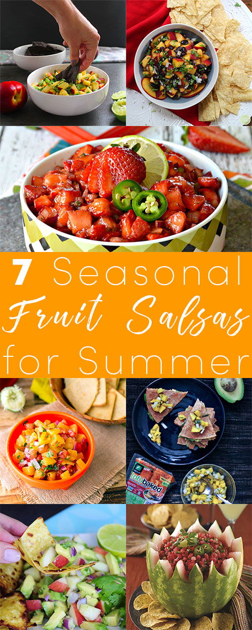 Fruit salsas are lovely for dipping chips or topping tacos, and they're a great way to take advantage of fresh, summer produce. Try these tasty fruit salsa recipes!