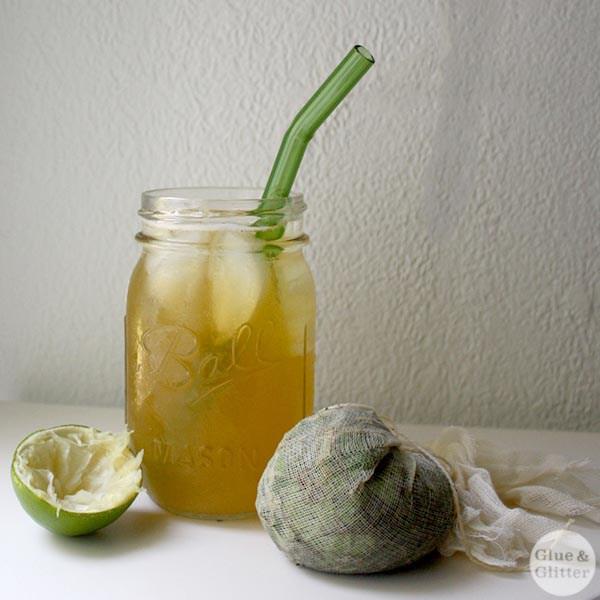 Mojito Sun Tea