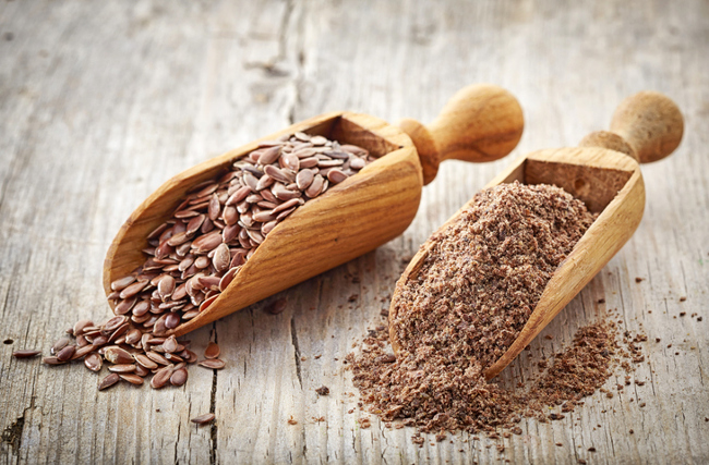 Flax meal delivers a healthy dose of omega 3s.