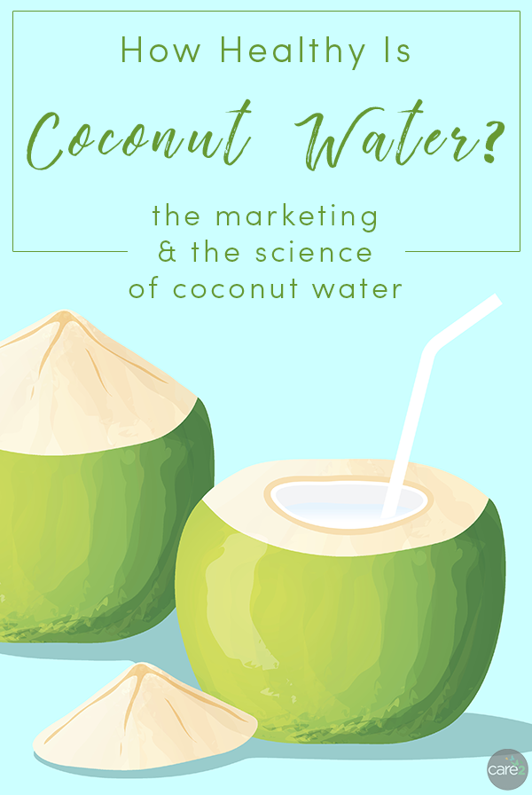 Coconut water isn't unhealthy, but its health claims are pretty overblown. Let's look at the truth about this trendy drink.