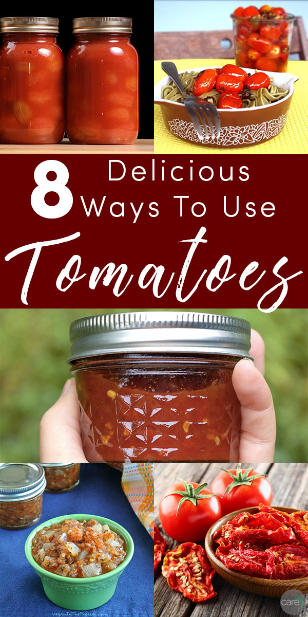 Did you grow a bumper crop of tomatoes this year? Try these delicious ways to use all of the tomatoes from your garden.