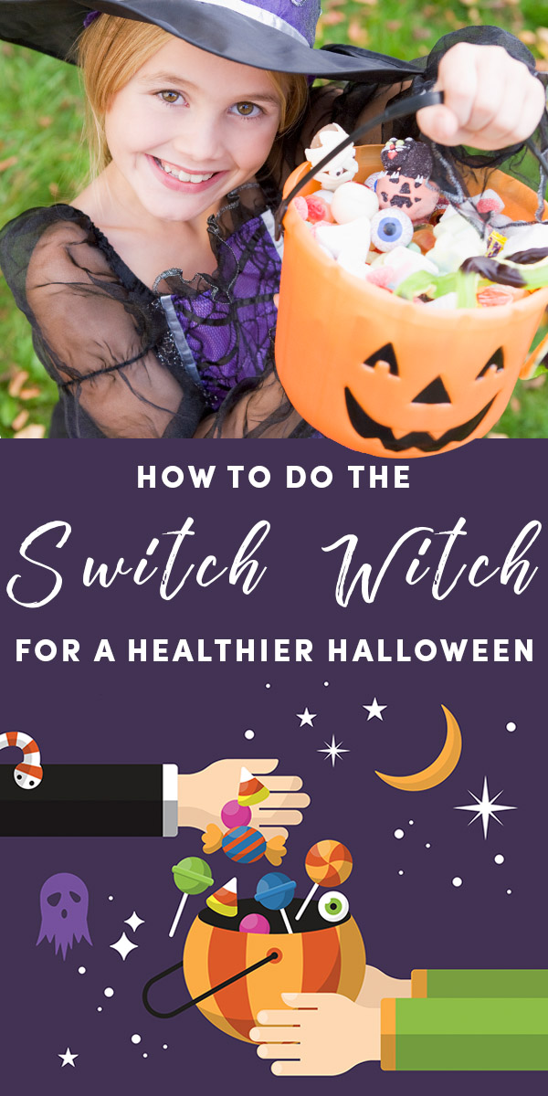 You have the power to make this Halloween less sugar-laden by introducing your child to The Switch Witch.