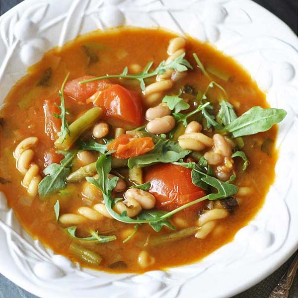 Minestrone Soup from Veganosity