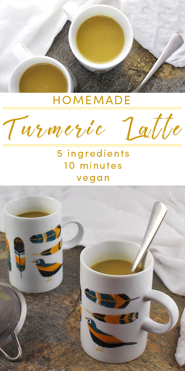 Coffee shops are rolling out turmeric lattes this fall, but you can make your own with healthier ingredients and for less money in your own kitchen with our cheater recipe. No espresso maker required. Here's how!