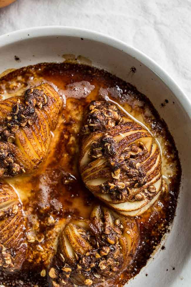 Hasselback Pear Recipe - Care2