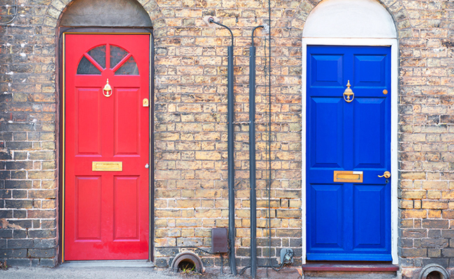 Door Colors and Feng Shui