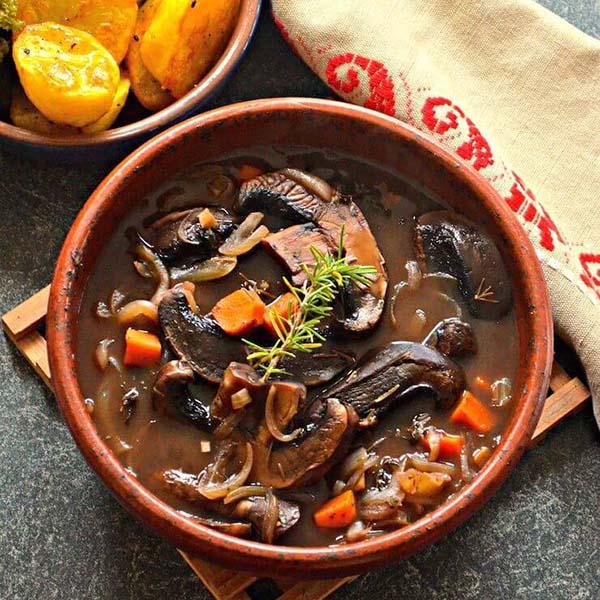 Portobello Pot Roast from A Virtual Vegan