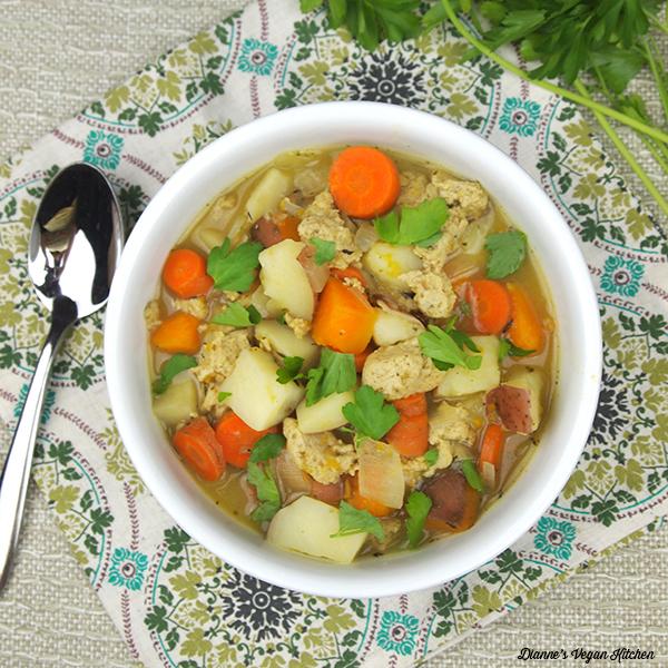 Slow Cooker Seitan Stew from Dianne Wenz