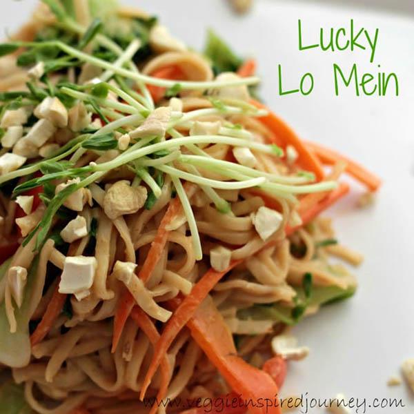 Veggie Lo Mein from Veggie Inspired