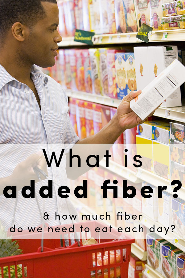 """What exactly is """"added fiber"""" in food, and is it as healthy as naturally-occurring fiber? The FDA is considering this question right now."""