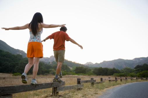 Curb Walking for Balance
