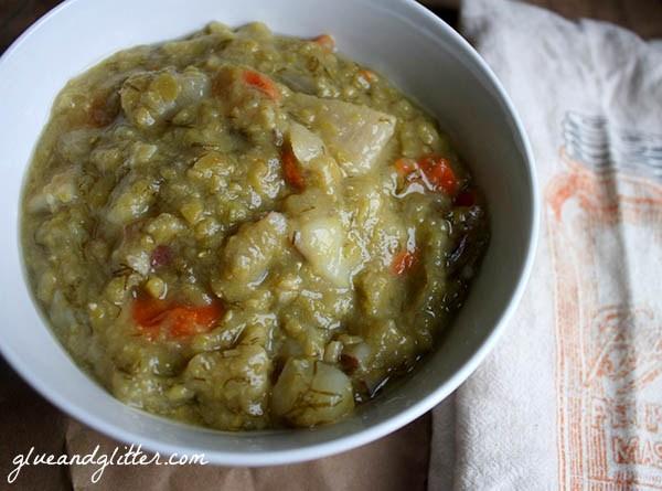 Crock Pot Split Pea Soup
