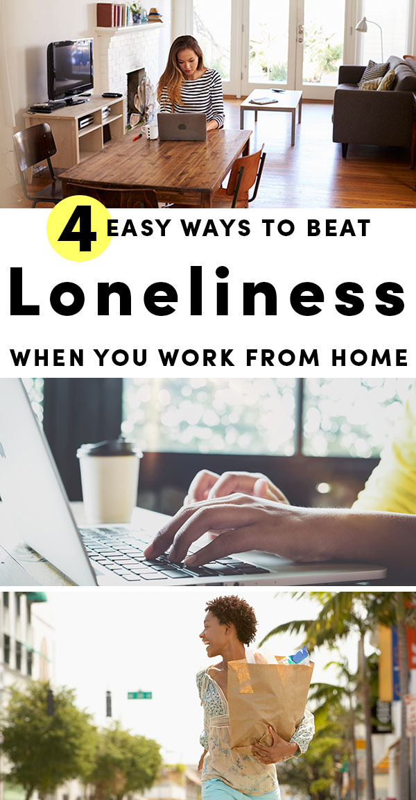Working from home may seem like it's living the dream, and in many ways, it is. But teleworking can also be lonely. Here are some tricks long-time teleworkers use to beat the work-from-home blues.