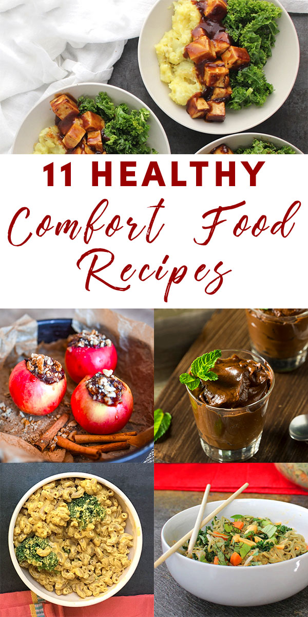 Try these delicious-yet-healthy comfort food recipes, next time you need to eat your feelings.