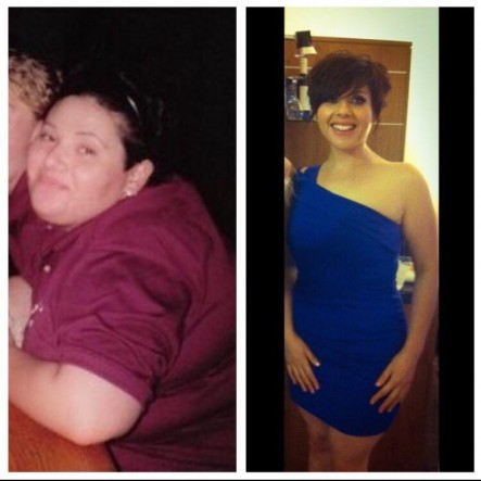 Joanne - weight loss before and after