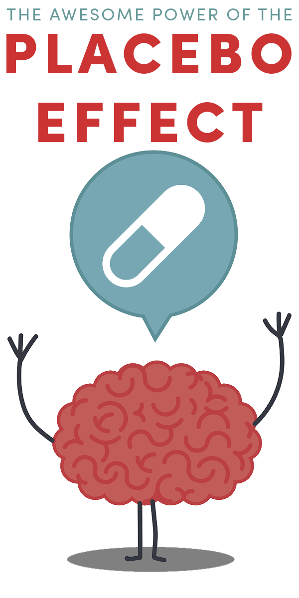 The placebo effect is incredibly powerful, and we can harness its power, even when we know that we're using it.