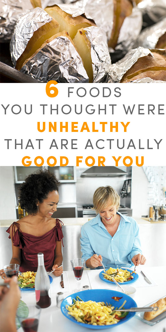"""What makes food healthy or unhealthy? How do good foods get bad reputations? Here are some """"bad"""" foods you can embrace once again!"""