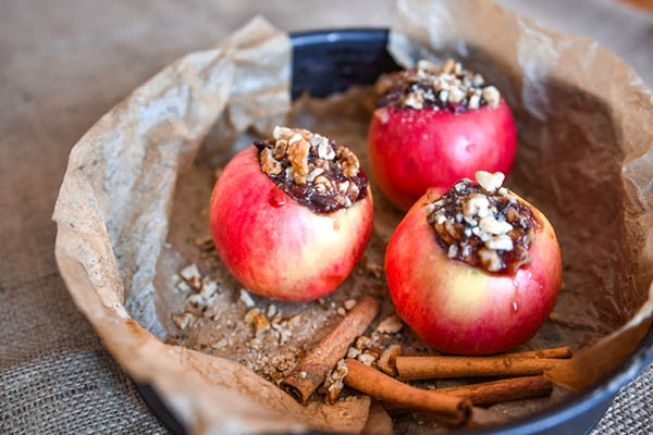 Baked Apples are simple, healthy comfort food that's perfect for fall and winter.