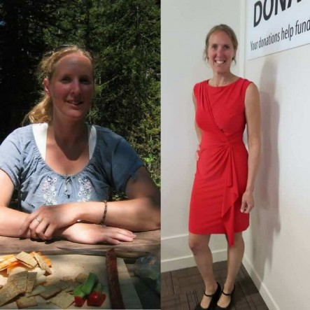 melanie- weight loss before and after