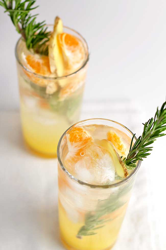 Clementine Ginger Spritzer - Care2
