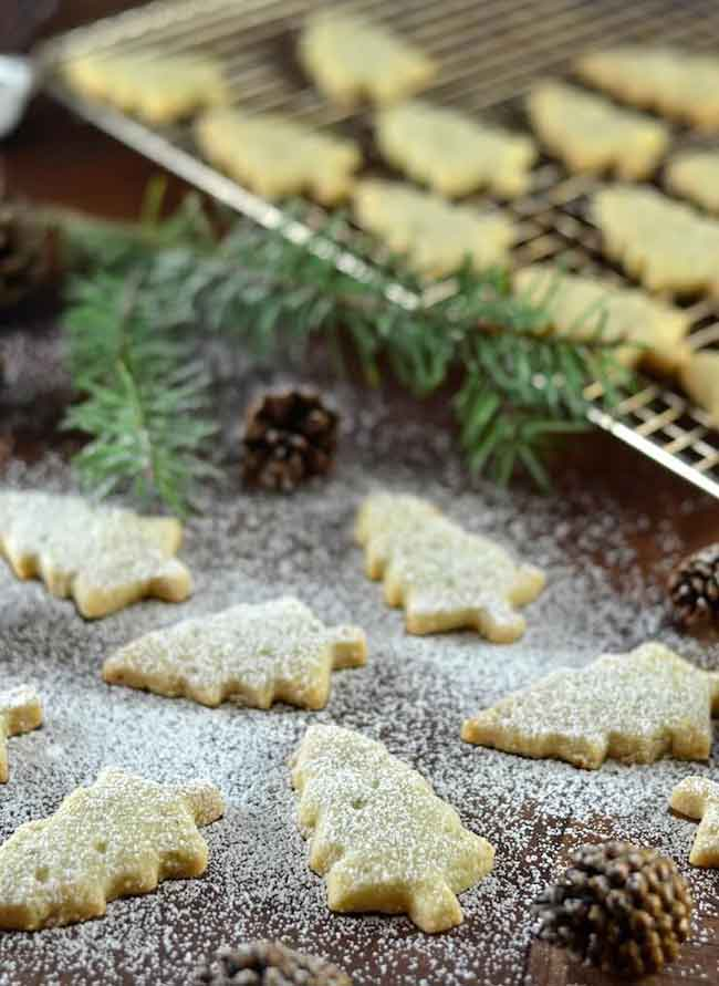 Pine Needle Shortbread Cookies from A Virtual Vegan - Care2