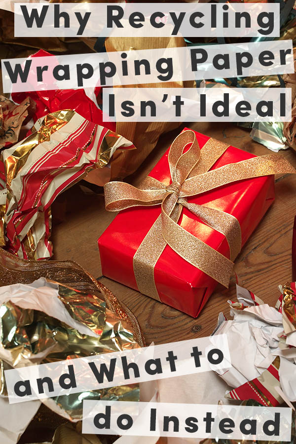 Christmas is coming, and that usually means a mountain of wrapping paper. Try these creative ways to reuse wrapping paper!