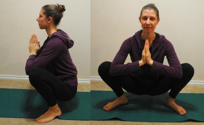 malasana yoga pose