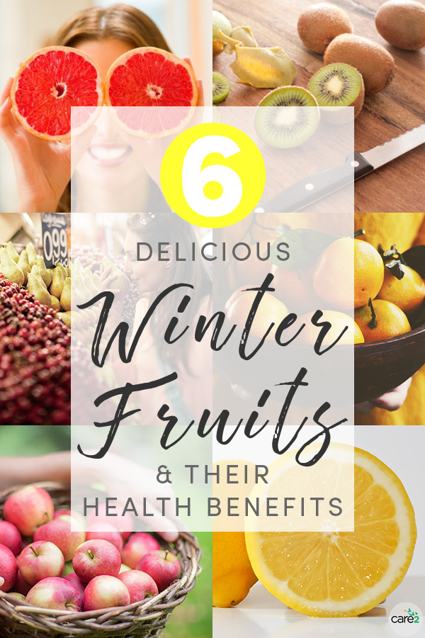 You might not think of winter as a bountiful fruit season, but there are quite a few fruits that are available during the coldest months. Here are a few common winter fruits and their health benefits.