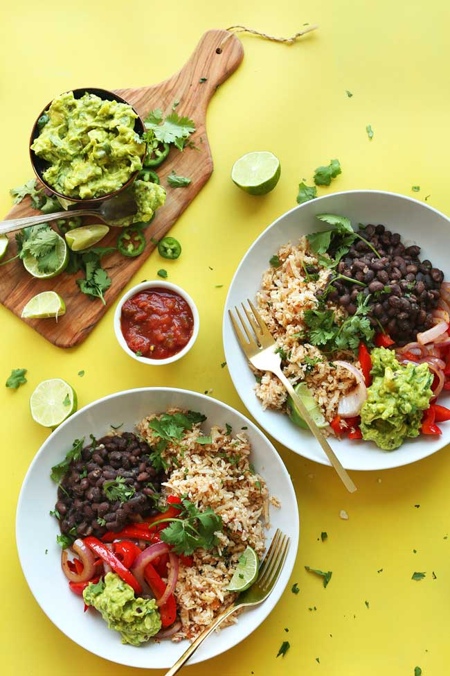 cauliflower-rice-burrito-bowl-minimalistbaker