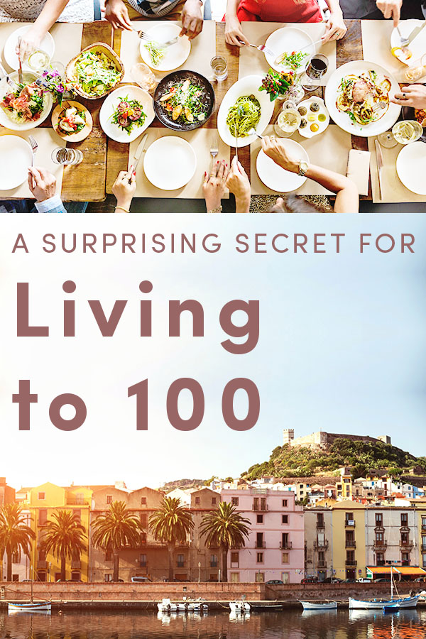 There's nothing particularly healthy about what the people on the island of Sardinia eat and drink, yet the island has dramatically more residents living to 100 plus than anywhere else in Italy or in North America. What's their secret?
