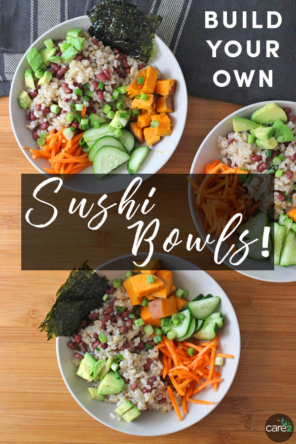 A sushi bowl is a perfect weeknight meal. Learn how to make sushi rice, plus get ideas for all kinds of sushi bowl add-ins and some combo ideas to get you started.