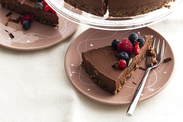 Chocolate Maca Tart from Go Dairy Free