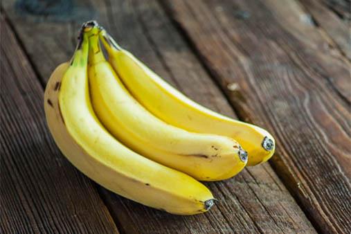 Bananas are a food to help you sleep.