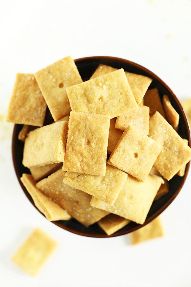 Vegan Cheez Its from Minimalist Baker