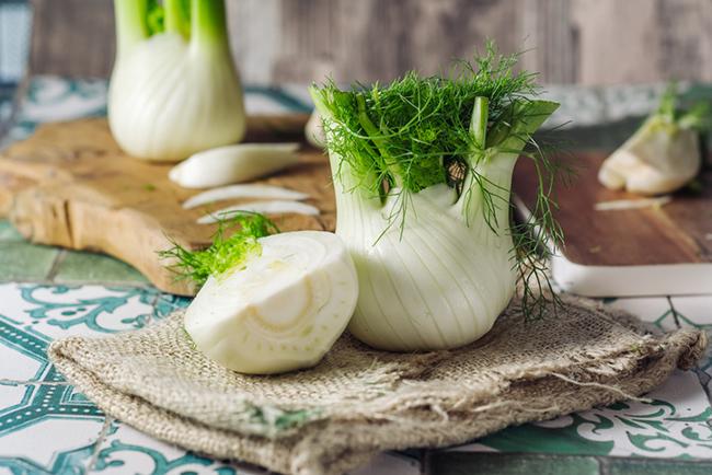 Fennel is a healthy prebiotic food.