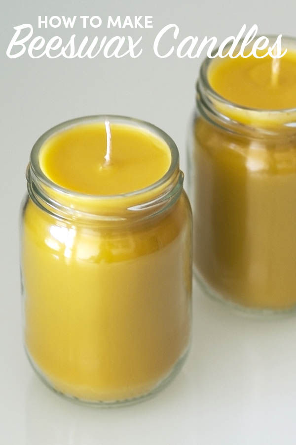 Conventional candles aren't healthy. So learn how to make your own safer alternative: beeswax candles.