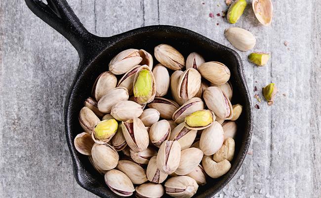 Get those healthy prebiotics from pistachios!