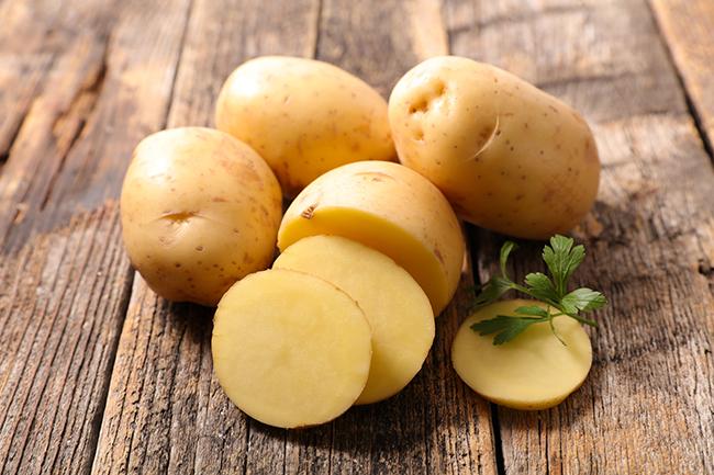 Potatoes have more potassium than a banana!