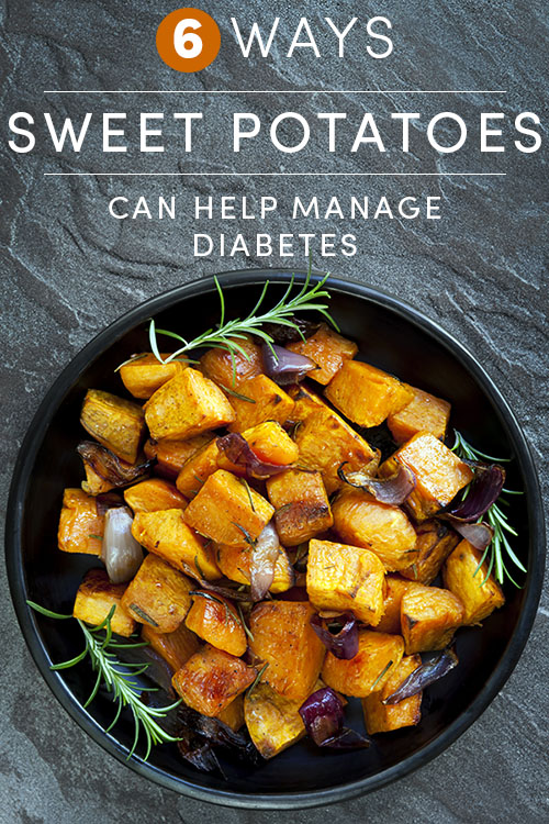 When you're living with diabetes, it's important to avoid sweet and high-carb foods. In moderation, however, sweet potatoes can help manage diabetes.