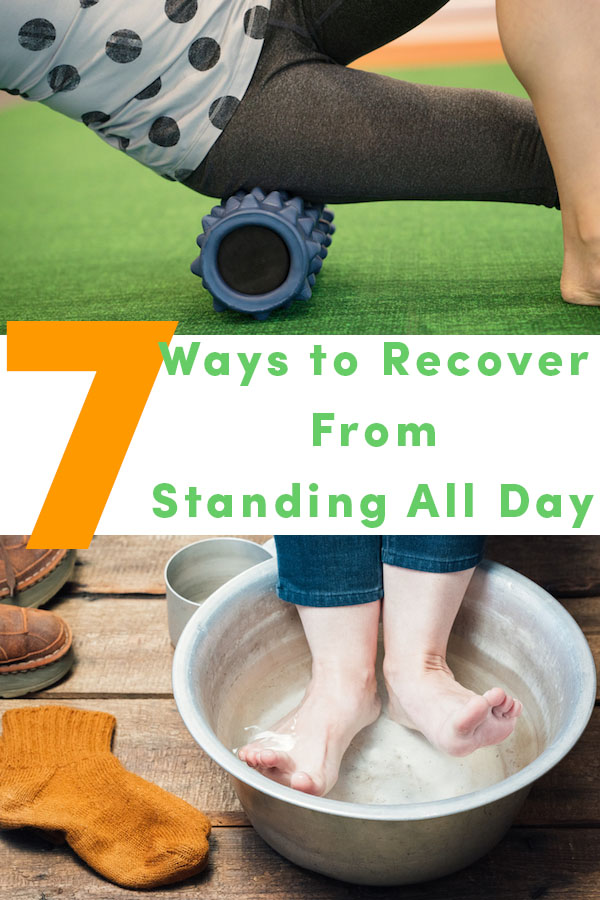 Incorporate these seven tips into your daily routine either before, during, or after work. Preferably, spread them out throughout the day to provide your body with the release and breaks it needs to keep going.