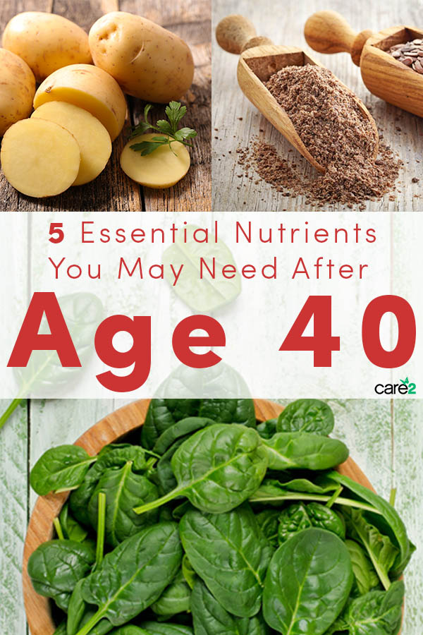 Your body undergoes many physiological and hormonal changes around age 40, so it's important to take a fresh look at these essential nutrients to balance out these changes.