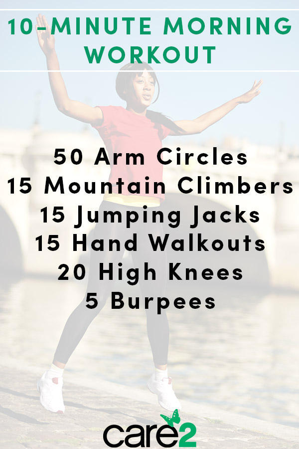 When done consistently, short workouts can be very effective. They can build your discipline, tone your muscles, and keep you energetic all day. Use this quick, 10-minute morning workout to jumpstart your day.