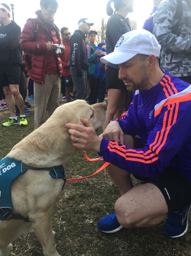 Running Guide Dogs Provide Visually Impaired Runners with Greater Independence