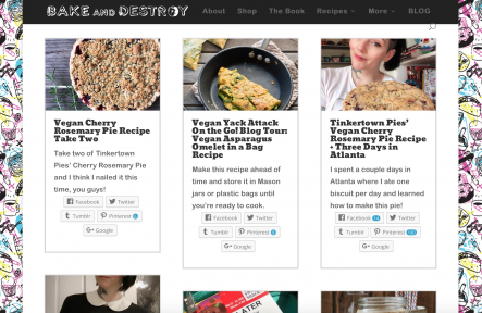 bake and destroy homepage