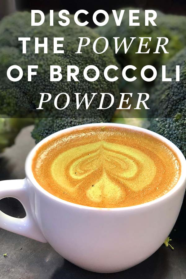 Lattes and broccoli might sound like a weird combination, but it's a thing now. Discover why baristas are making broccoli powder lattes, called broccoloattes.